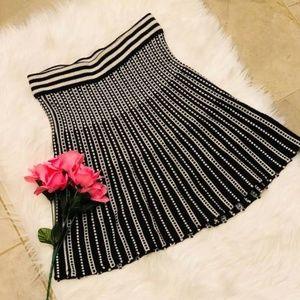 Catherine Malandrino Design Nation Knit Skirt L